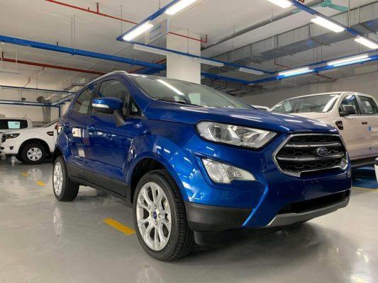 Ford EcoSport 2020 lộ diện tại Việt Nam