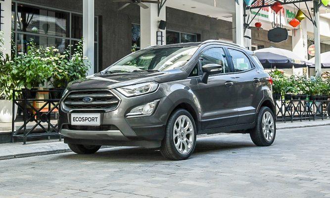 Sau nâng cấp Ford EcoSport giảm giá bán, cạnh tranh KIA Seltos