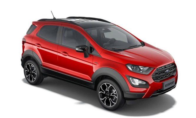 Ford EcoSport bản Active lộ diện với ngoại hình bắt mắt hơn