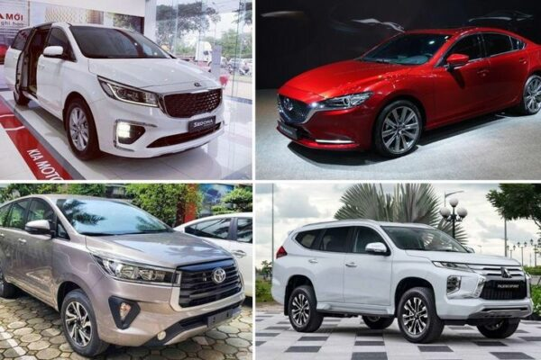 Top 10 xe bán chậm nhất tháng 7/2021: Xe hot Innova bỗng góp mặt