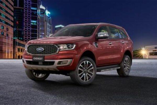 10 công năng không nên bỏ lỡ với Ford Everest